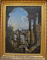 Giovanni paolo panini, veduta ideale con rovine, 1727.JPG