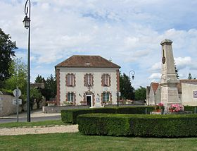 La mairie de Gironville