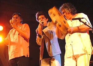 Glen Velez - Glen Velez, Luca Recupero, and Alfio Antico  at the Marranzano World Festival of Catania, Sicily, 2007