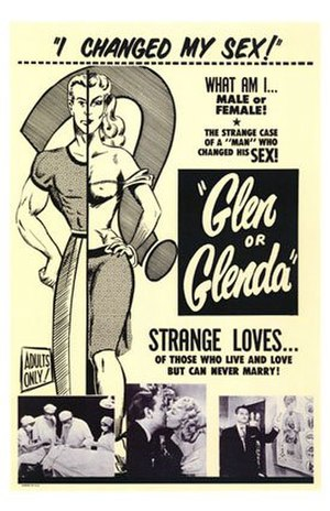 History of homosexuality in American film - Poster for Glen or Glenda (1953)