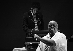 Danger Mouse (musician) - Danger Mouse (left) and CeeLo performing as Gnarls Barkley in 2007