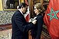 Gobierno condecora a Embajadora de Marruecos en el Perú.jpg