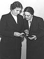 Golda Meir and Beba Idelson D83-122.jpg