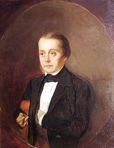 Портрет кисти К.А.Горбунова
