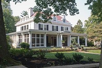 Roland Park, Baltimore - House along Goodwood Gardens