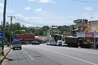 Goomeri Town in Queensland, Australia