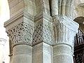 Gournay-en-Bray (76), collégiale St-Hildevert, bas-côté nord, chapiteaux du 2e pilier libre, côté nord-est.jpg