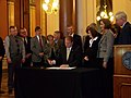 Gov. Culver signing the bill (4454962084).jpg