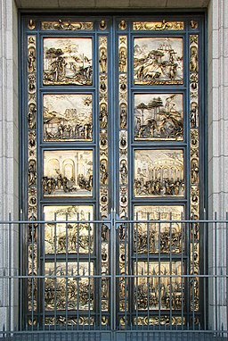 Grace Cathedral-Ghiberti doors
