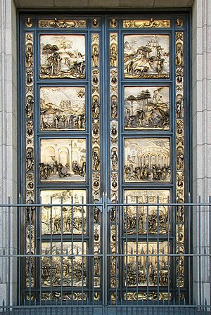 Ghiberti doors, Grace Cathedral, San Francisco...