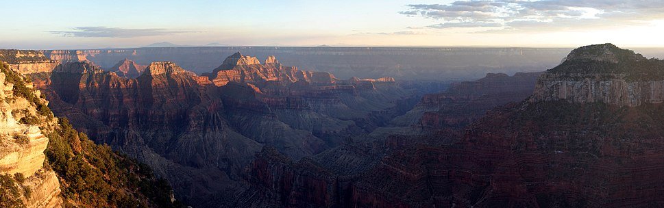 View from the North Rim of the Grand Canyon, a World Heritage Site