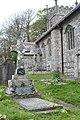 Grave of Stanhope Alexander Forbes and Elizabeth Adela Forbes in Sancreed churchyard - geograph.org.uk - 1297030.jpg