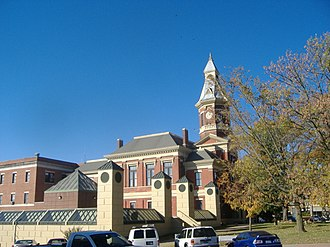 Mayfield, Kentucky - Graves County Courthouse (2008)
