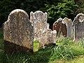 Gravestones, Stokeinteignhead - geograph.org.uk - 786261.jpg