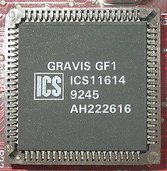 Gravis Ultrasound - The GF1 chip