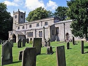 St Giles' Church, Longstone - Image: Great Longstone church geograph.org.uk 1114300
