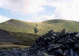 Great Sca Fell mountain in United Kingdom
