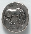 Greece, Thessaly, 4th century BC - Drachma- Horse (reverse) - 1916.988.b - Cleveland Museum of Art.tif