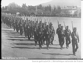 Greece during World War I - Mobilisation of the Greek army, summer 1915