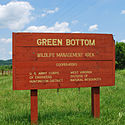 Thumbnail image of sign for Green Bottom WMA