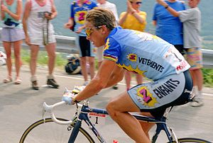 Crédit Agricole (cycling team) - Greg Lemond at the 1991 Tour de France