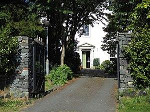 Greta Hall - The entrance to Greta Hall