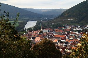 Großheubach - Großheubach, seen from Engelberg