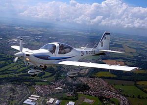 No. 6 Air Experience Flight RAF - Grob Tutor aircraft similar to that flown by 6 AEF