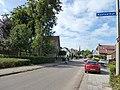 Groesbeek (NL) Hoflaan onder 2-4 , locatie van kasteelfundaties.JPG
