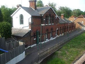 Groombridge railway station - Image: Groombridge Railway Station 3