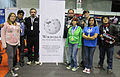 Grupo de Voluntarios de Wikimedia del Ecuador at Campus Party.jpg