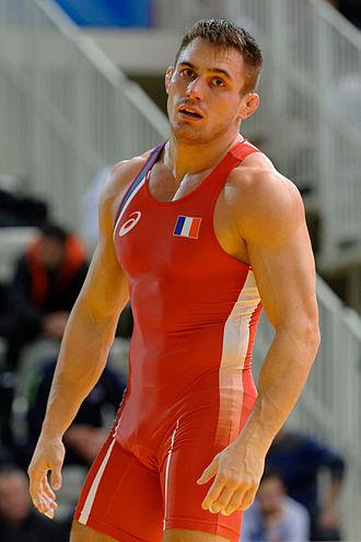 Steeve Guénot - Guénot at the 2014 Grand Prix of Paris