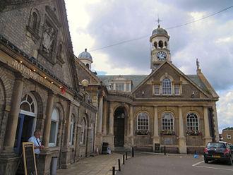 Walmington-on-Sea - The Guildhall at Thetford became Walmington-on Sea's Town Hall