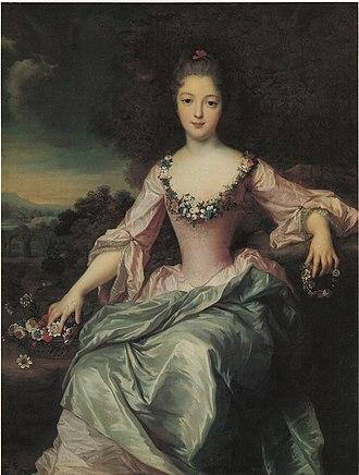 Gustaf Lundberg - Image: Gustaf Lundberg Marie Anne de Bourbon Condé