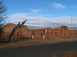National Register of Historic Places listings in Logan County, Oklahoma - Image: Guthrie Armory