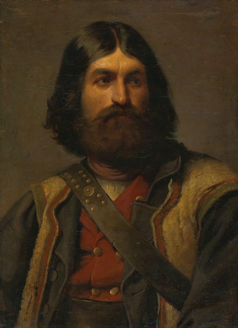 Dyula Benczúr - Podobizeň muža s bradou - O 778 - Восточно-Словацкий Gallery.jpg