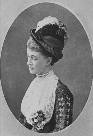 Georges Penabert - Lady Hélène Standish, wife of Henry Noailles Widdrington Standish of Standish, Lord of the manor, in 1874.