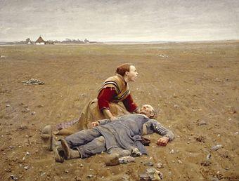 H. A. Brendekilde - Udslidt (1889).jpg