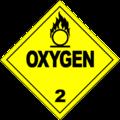 HAZMAT Class 2-2 Oxygen.png