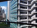 HKU SYP Pokfulam Road Sai Ying Pun 嘉道理生物科學大樓 Kadoorie Biological Sciences Building KBSB facade SSG Sept 2018 03.jpg