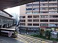 HK 觀塘 Kwun Tong 開源道 Hoi Yuen Road MTR exit footbridge view October 2018 SSG 01.jpg