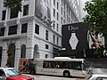 HK Central Pedder Street long CityBus Pedder House Wheelock House Dior outdoor ads Oct-2012.JPG
