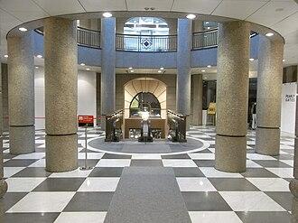 Entertainment Building - Interior of Entertainment Building.