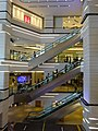 HK TST Nathan Road Miramar Shopping Centre interior mall courtyard Aug-2015 DSC escalators visitors 001.jpg