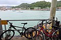 HK YSW 南丫島 Lamma Island 榕樹灣渡輪碼頭 Yung Shue Wan Ferry Pier bicycles parking June 2018 IX2 02.jpg