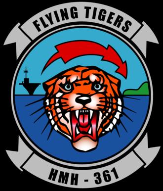 HMH-361 - Image: HMH 361 insignia