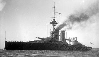 HMS <i>Audacious</i> (1912) King George V-class battleship