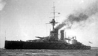 HMS Audacious (1912) - Image: HMS Audacious LOC 17766
