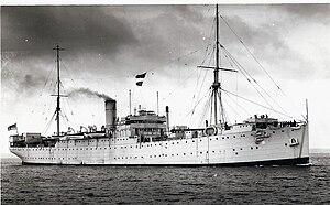 HMS Cyclops (F31) - Image: HMS Cyclops Scotland 1943ish