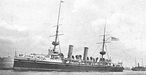 HMS Minerva (1895) - Image: HMS Minerva (1895)